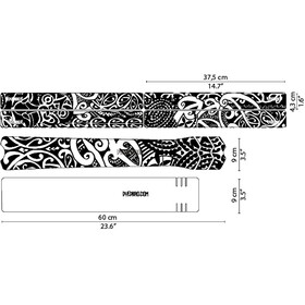 DYEDBRO Maori Frame Protection Kit, black